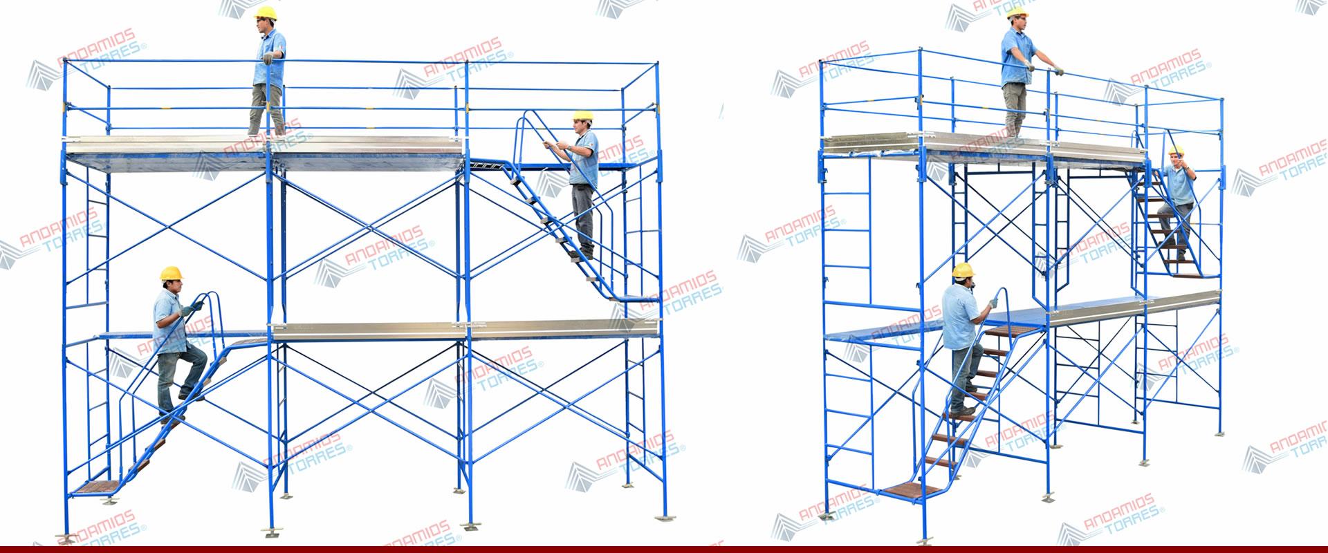 Venta y renta de andamios para construcci n andamio for Alquiler de andamios madrid